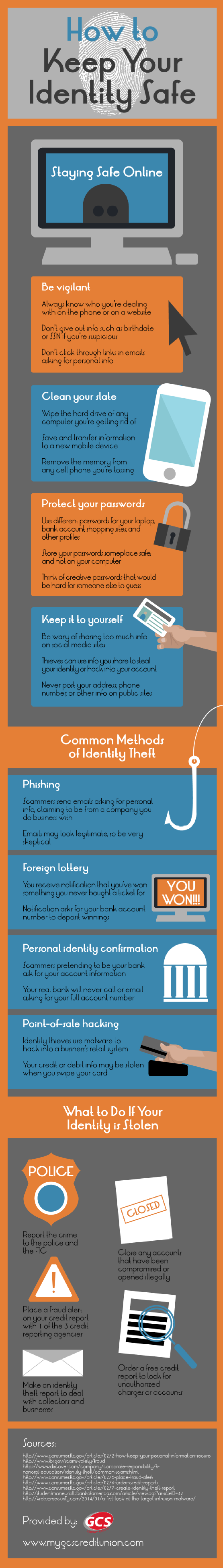 Infographic: How to Keep Your Identity Safe
