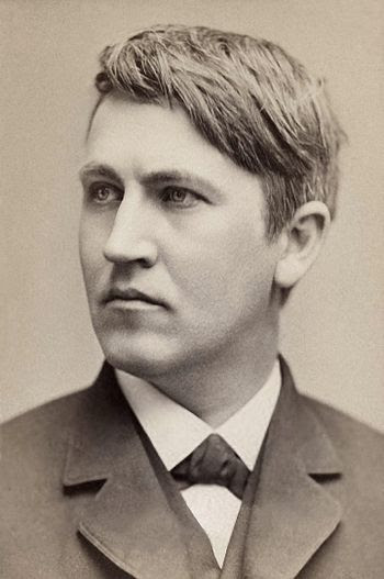 Thomas Edison built the world's first large-sc...