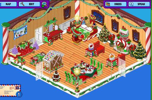 Belsnickel's Christmas room