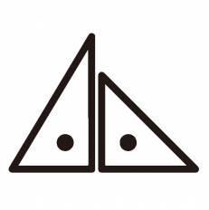 三角定規シルエット イラストの無料ダウンロードサイトシルエットac