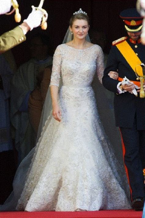 Oct 20   Wedding of Princess Stephanie of Luxembourg and