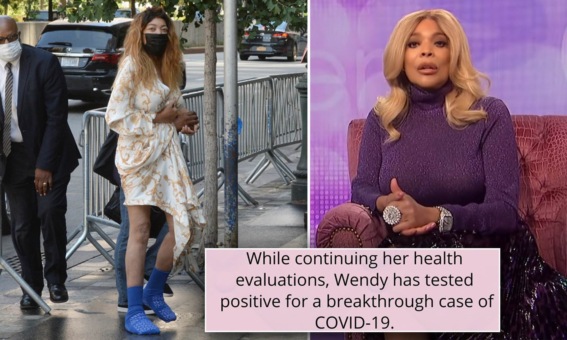 Wendy Williams reveals she has tested positive for COVID despite being vaccinated