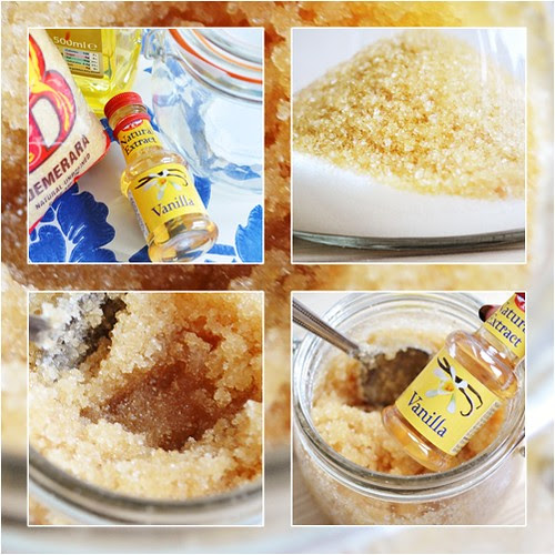 DIY Sugar body scrub