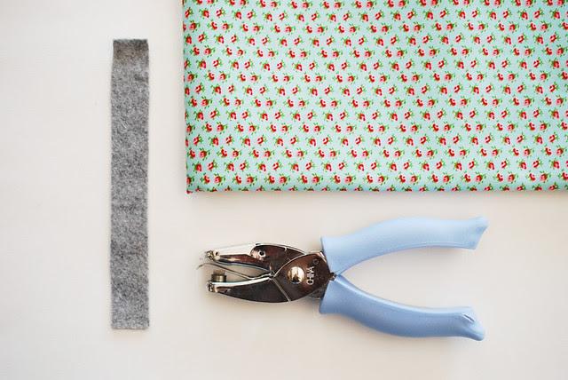 Felt & Fabric Tie-On Bracelet
