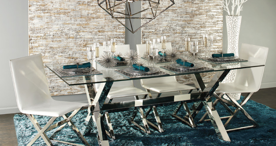 Dining Room Inspiration | Axis Dining Table | Z Gallerie