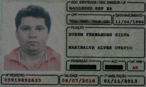 Suspeito apresentou documento falso à polícia / Foto: Divulgação/PF.