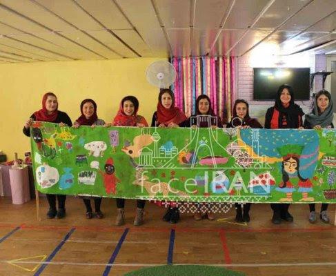 KHANEH TARAHI KOUDAK (la Maison du dessin des enfants) célèbrent la fête de Hdji Firouz