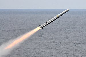 RIM-162 launched from USS Carl Vinson (CVN-70) July 2010.jpg