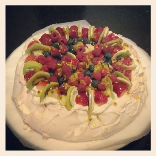 Mum's pavlova. Desserts are srs bznz in our family!