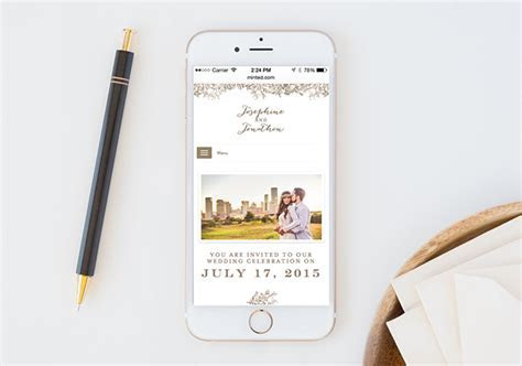 Wedding Websites by Minted Help You Coordinate from