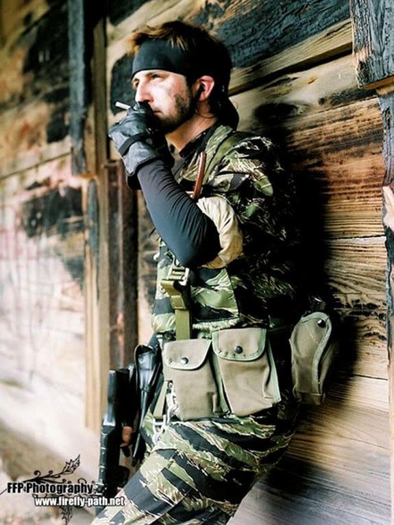Cosplay: Solid Snake (Metal Gear Solid)