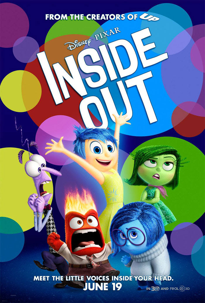 Inside Out (2015) Movie Trailer, Release Date, Cast, Plot and Poster