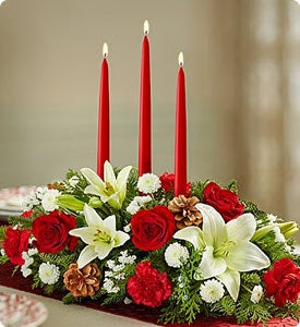 Traditional Christmas Centerpiece  Shop Now