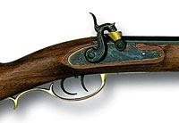 O Kentucky Long Rifle foi uma das mais famosas das primeiras armas de fogo