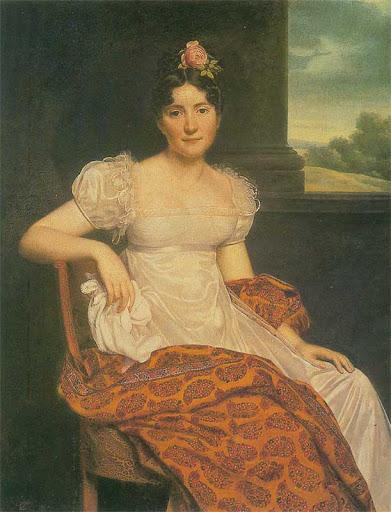 Анри Франсуа Ризенер. Портрет Жозефины Фридрихс. 1813 г. Эрмитаж