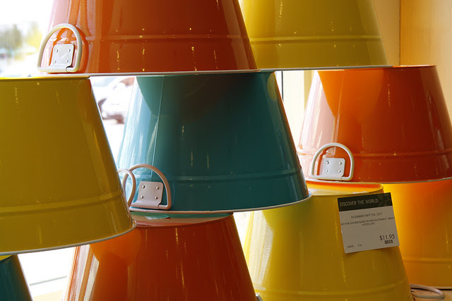buckets of colour