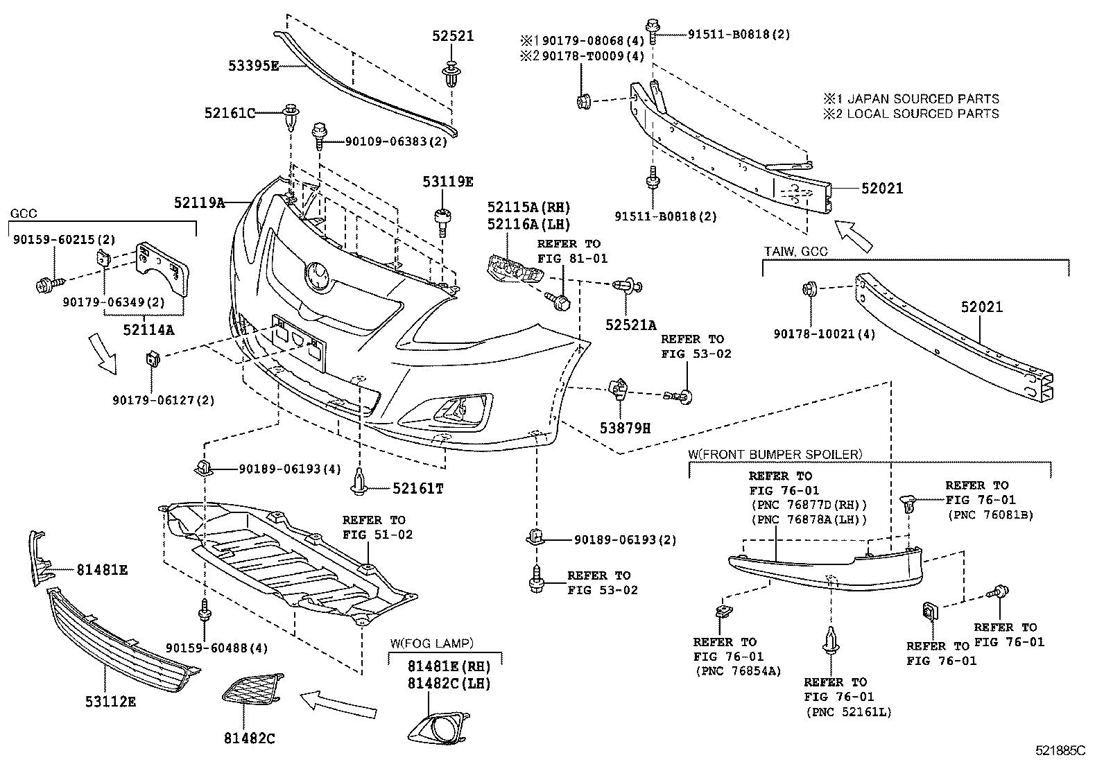 33 1999 Toyota Corolla Exhaust System Diagram