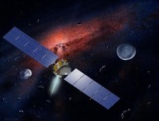 Dawn en busca de asteroides