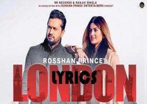 London Lyrics Roshan Prince