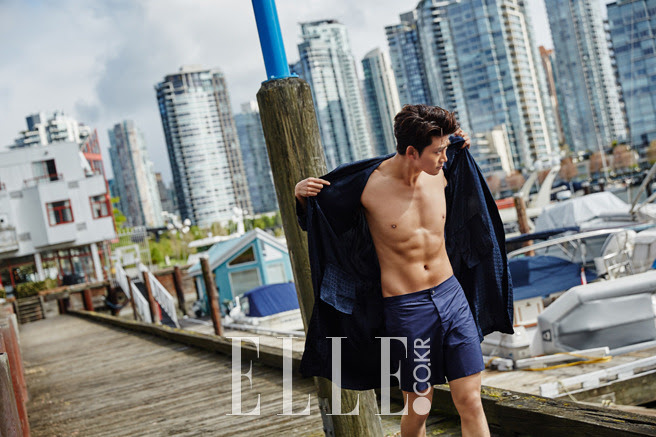 2PM Taecyeon - Elle Magazine June Issue '15