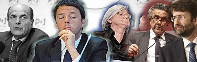 "Pd: Bindi vs Bersani, da Franceschini ok a Berlusconi. Renzi: ""Nessuno vuole votare"""