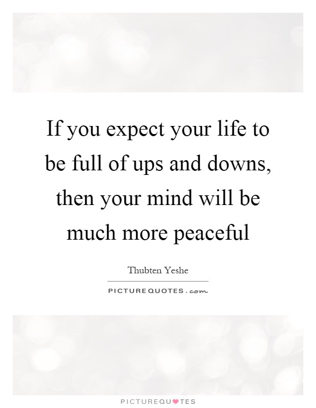 Life Ups And Downs Quotes Sayings Life Ups And Downs Picture Quotes