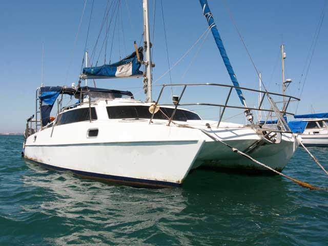 26 Dean Cat Cat26 0103 Second Hand Catamarans Multihulls Catamarans Multihulls Yacht And Power Sales Cape Town South Africa