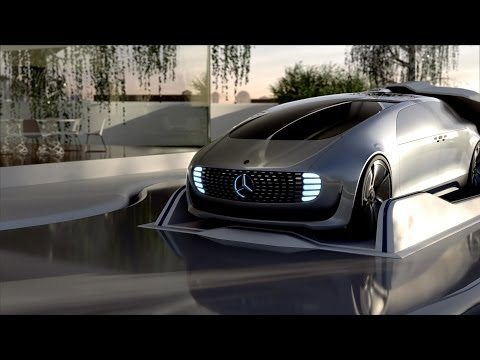 The autonomously driving study automobile F 015 luxury in motion demonstrates on this animated video several eventualities of the future.