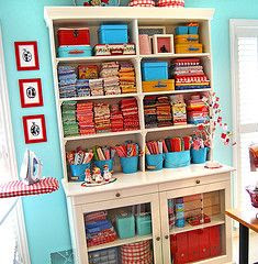 I so wish I was this organized (and colorful!)