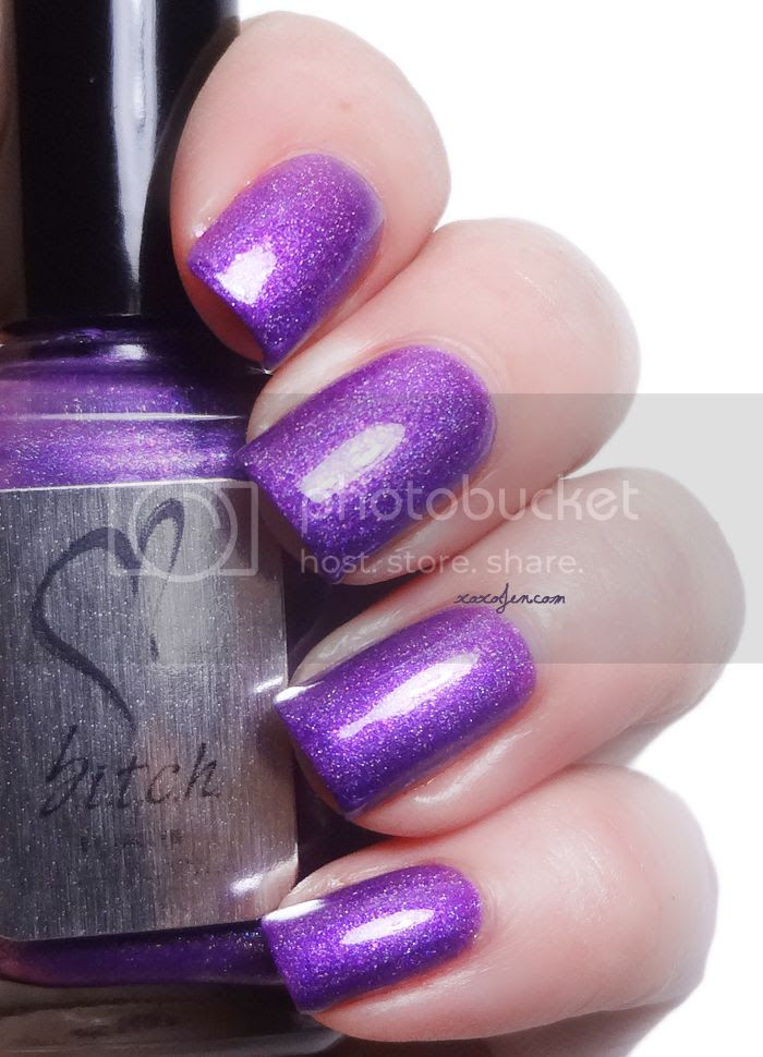 xoxoJen's swatch of b.i.t.c.h. by Jaclyn Family Jewels