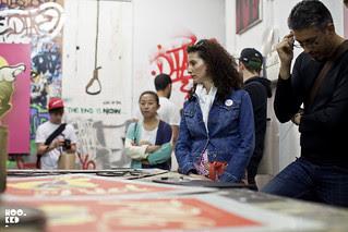 D*Face Studio at #NewWorldDisorder Exhibition
