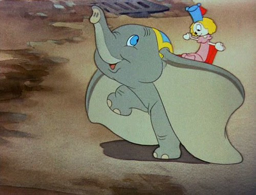 Dumbo plays to audience