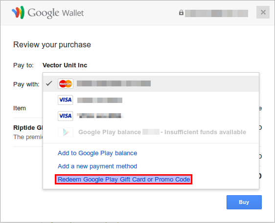 Free Google Play Credit 2018 All Cards