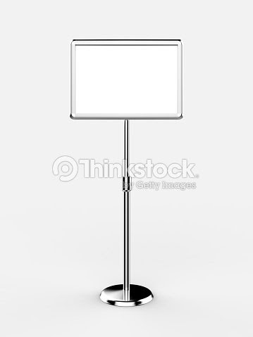 A3 A4 Floor Standing Menu Poster Display Holder Snap Frame