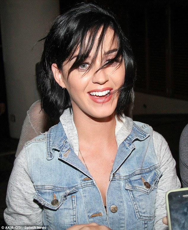 She knows what she wants: Katy revealed that she wants to be wooed by a man in an interview for the magazine