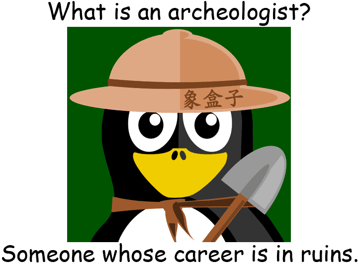 archeologist archaeologist 考古學家