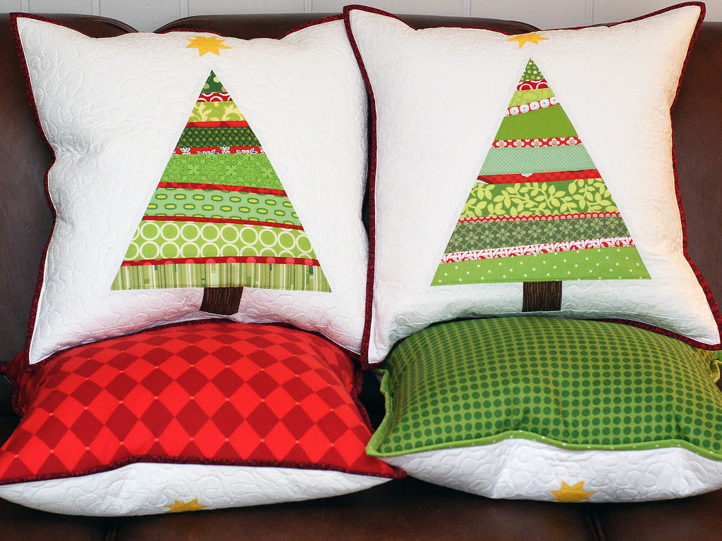 Christmas Tree Pillows