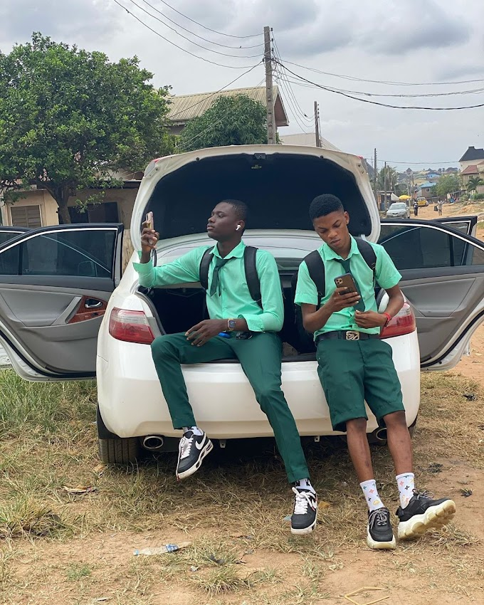 Benefit Boys: Secondary School Boys Resumes School With Exotic Car Keys