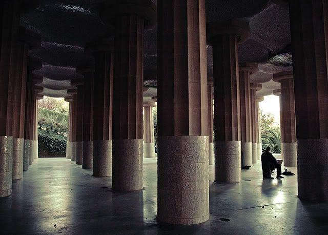 Park Guell Columns: Mathematical Architecture