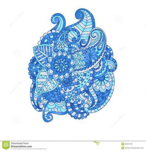 Decorative Flower Composition Stock Images   Image: 35461764