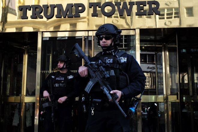 Torre Trump vista desde fuera