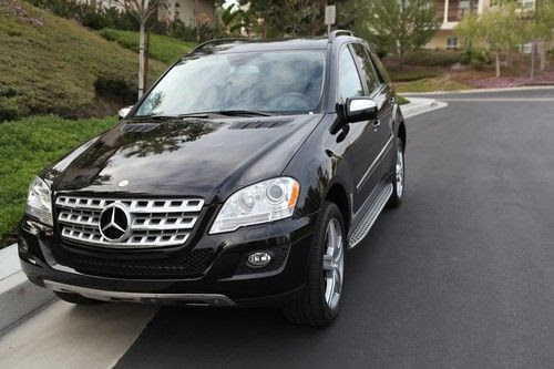Purchase used 2009, Black, Mercedes-Benz ML 350 4MATIC ...