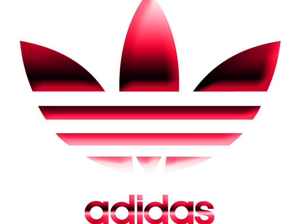 Logo Wallpaper: Adidas Logo White Viewing Gallery