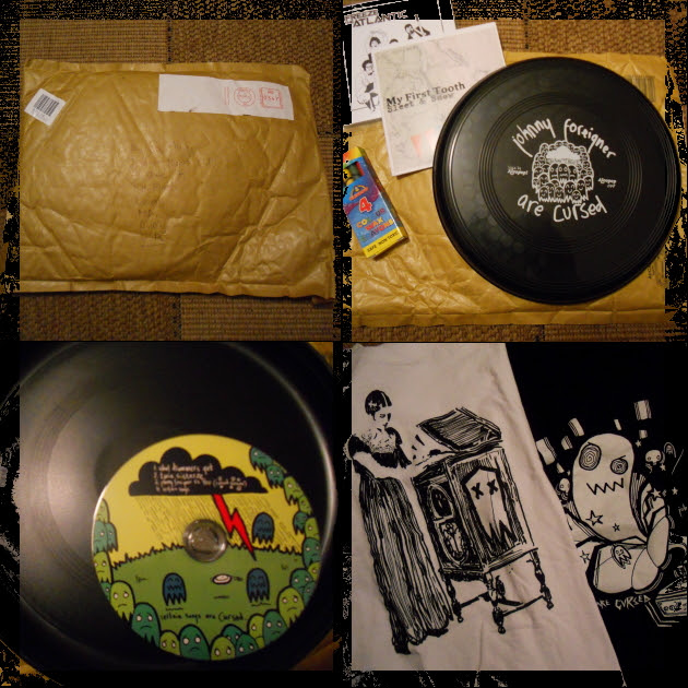 Johnny Foreigner Frisbeep and t-shirts