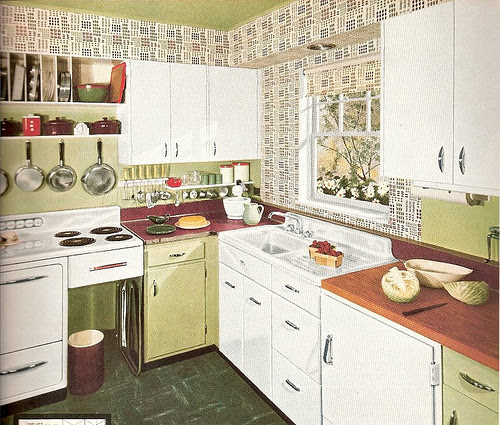 1950S KITCHEN DESIGNS - KITCHEN DESIGN PHOTOS
