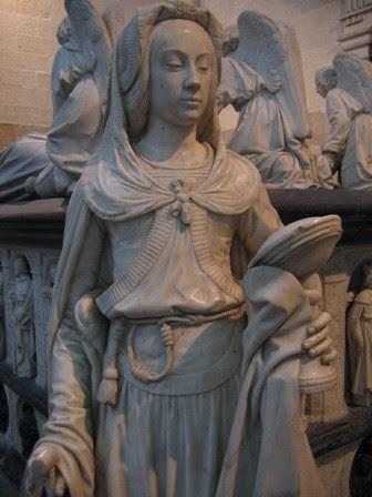 Bienheureuse Prudence Castori. Religieuse augustine († 1492)