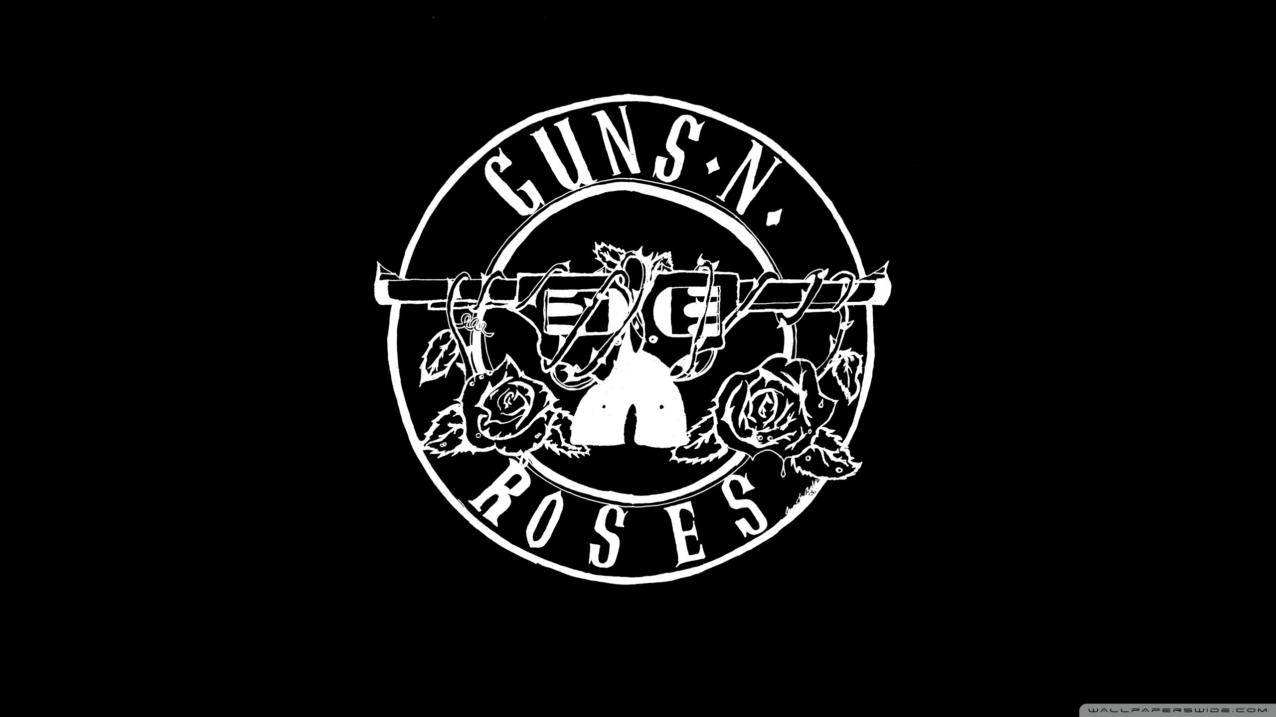 Guns N Roses Logo Hd Ultra Hd Desktop Background Wallpaper For