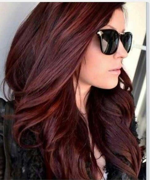 Ombre Haare Färben Rot
