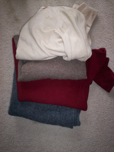 Wool Sweaters for Felting