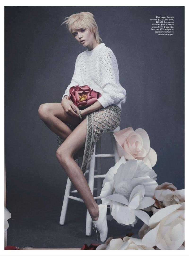 Josephine Skriver for Vogue Australia March 2014 - Spring Awakening